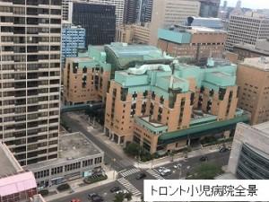トロント小児病院 修正